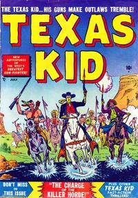 Cover Thumbnail for Texas Kid (Marvel, 1951 series) #4