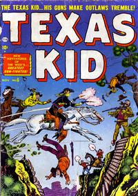 Cover Thumbnail for Texas Kid (Marvel, 1951 series) #6