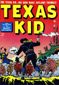 Cover Thumbnail for Texas Kid (Marvel, 1951 series) #7