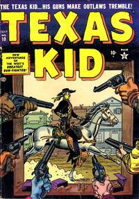 Cover Thumbnail for Texas Kid (Marvel, 1951 series) #10