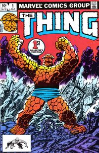 Cover Thumbnail for The Thing (Marvel, 1983 series) #1 [Direct]