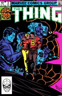 Cover Thumbnail for The Thing (Marvel, 1983 series) #2 [Direct Edition]