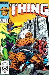 Cover Thumbnail for The Thing (Marvel, 1983 series) #5 [Direct]