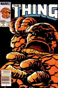 Cover Thumbnail for The Thing (Marvel, 1983 series) #6 [Newsstand]