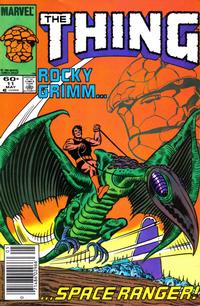 Cover Thumbnail for The Thing (Marvel, 1983 series) #11 [Newsstand]