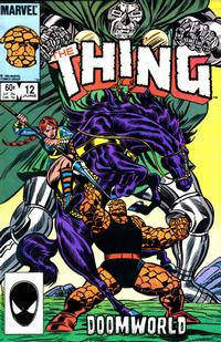 Cover Thumbnail for The Thing (Marvel, 1983 series) #12 [Direct Edition]