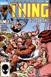 Cover Thumbnail for The Thing (Marvel, 1983 series) #26 [Direct]