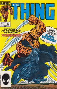 Cover Thumbnail for The Thing (Marvel, 1983 series) #27 [Direct]
