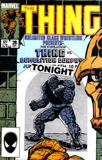 Cover Thumbnail for The Thing (Marvel, 1983 series) #28 [Direct]