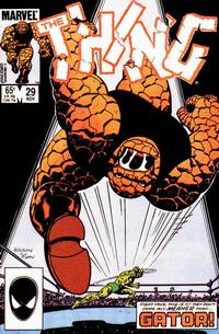 Cover Thumbnail for The Thing (Marvel, 1983 series) #29 [Direct]