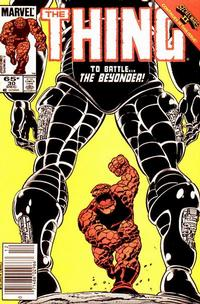Cover Thumbnail for The Thing (Marvel, 1983 series) #30