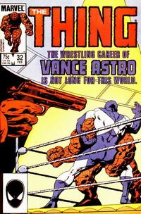Cover Thumbnail for The Thing (Marvel, 1983 series) #32 [Direct Edition]