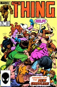 Cover Thumbnail for The Thing (Marvel, 1983 series) #33 [Direct Edition]