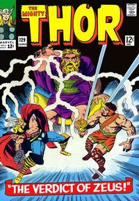 Cover Thumbnail for Thor (Marvel, 1966 series) #129