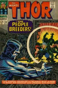 Cover Thumbnail for Thor (Marvel, 1966 series) #134