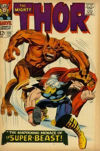 Cover Thumbnail for Thor (Marvel, 1966 series) #135