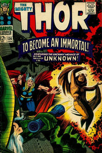 Cover Thumbnail for Thor (Marvel, 1966 series) #136