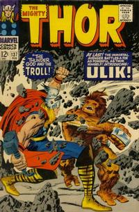 Cover Thumbnail for Thor (Marvel, 1966 series) #137