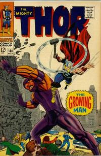Cover Thumbnail for Thor (Marvel, 1966 series) #140