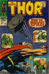 Cover Thumbnail for Thor (Marvel, 1966 series) #141