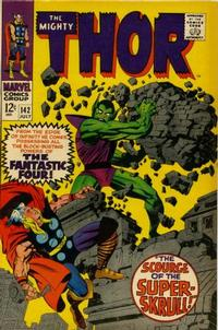 Cover Thumbnail for Thor (Marvel, 1966 series) #142 [Regular Edition]