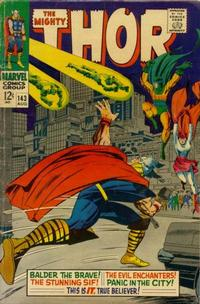 Cover Thumbnail for Thor (Marvel, 1966 series) #143 [Regular Edition]
