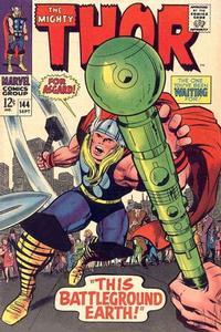 Cover Thumbnail for Thor (Marvel, 1966 series) #144 [Regular Edition]