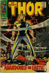 Cover Thumbnail for Thor (Marvel, 1966 series) #145 [Regular Edition]