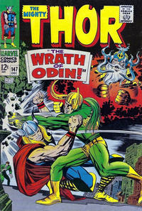 Cover Thumbnail for Thor (Marvel, 1966 series) #147