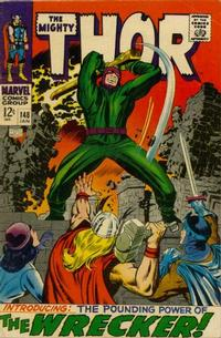 Cover Thumbnail for Thor (Marvel, 1966 series) #148
