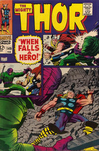 Cover Thumbnail for Thor (Marvel, 1966 series) #149