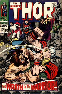 Cover Thumbnail for Thor (Marvel, 1966 series) #152