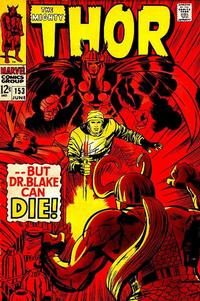 Cover Thumbnail for Thor (Marvel, 1966 series) #153