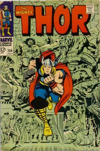 Cover Thumbnail for Thor (Marvel, 1966 series) #154
