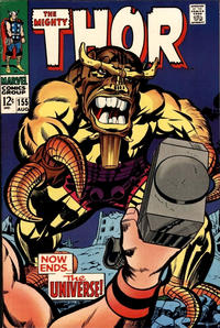 Cover Thumbnail for Thor (Marvel, 1966 series) #155