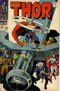 Cover Thumbnail for Thor (Marvel, 1966 series) #156