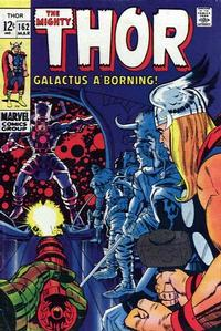 Cover Thumbnail for Thor (Marvel, 1966 series) #162