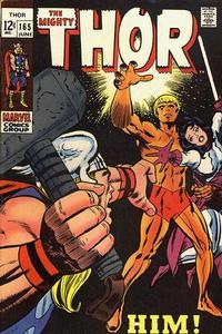 Cover Thumbnail for Thor (Marvel, 1966 series) #165 [Regular Edition]