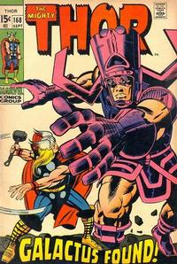 Cover Thumbnail for Thor (Marvel, 1966 series) #168 [Regular Edition]