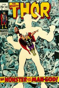 Cover Thumbnail for Thor (Marvel, 1966 series) #169 [Regular Edition]