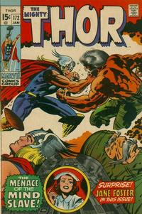 Cover Thumbnail for Thor (Marvel, 1966 series) #172