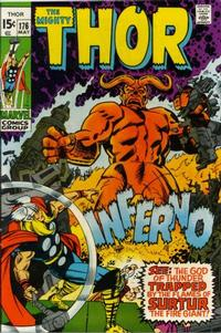 Cover Thumbnail for Thor (Marvel, 1966 series) #176