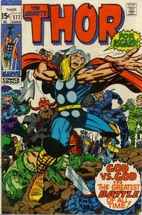 Cover Thumbnail for Thor (Marvel, 1966 series) #177