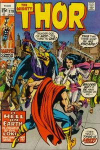 Cover Thumbnail for Thor (Marvel, 1966 series) #179