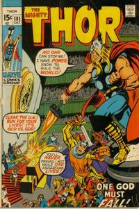 Cover Thumbnail for Thor (Marvel, 1966 series) #181 [Regular Edition]