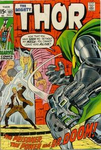 Cover Thumbnail for Thor (Marvel, 1966 series) #182
