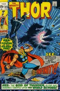 Cover Thumbnail for Thor (Marvel, 1966 series) #185 [Regular Edition]