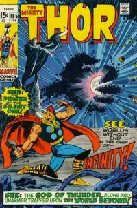 Cover Thumbnail for Thor (Marvel, 1966 series) #185 [Regular Edition]