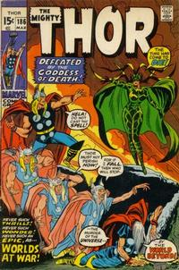 Cover Thumbnail for Thor (Marvel, 1966 series) #186 [Regular Edition]
