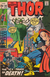 Cover Thumbnail for Thor (Marvel, 1966 series) #189